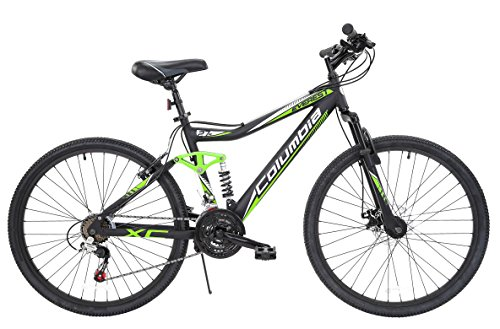 "Discover Bargain 27.5"" Columbia Everest Men's Dual Suspension Mountain Bike"