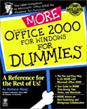 More Microsoft Office 2000 for Windows For Dummies (For Dummies (Computers)) (0764506056) by Wang, Wallace