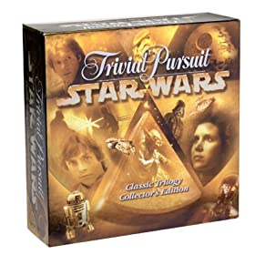 Star Wars Trivial Pursuit board game!