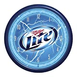 Licensed Miller Lite Plasma Clock