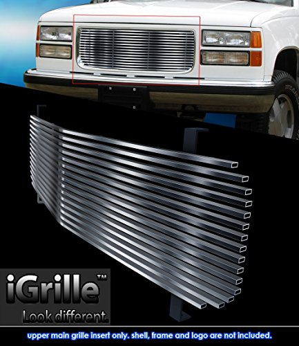 Stainless Steel eGrille Billet Grille Grill For 1994-1999 GMC Sierra/C/K Pickup/Suburban (1994 Gmc Sierra Grille compare prices)