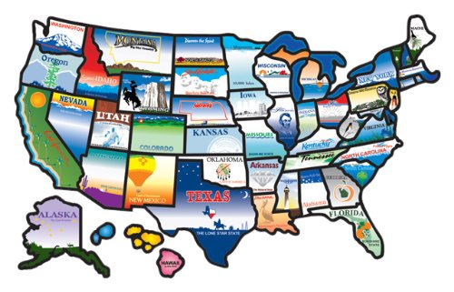 RV Net Open Roads Forum: USA Sticker Maps - Settle an argument!