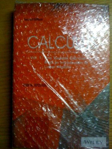 Free Download Calculus, Volume 1 by Tom M  Apostol - Baako