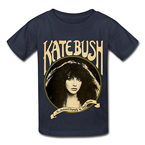UTU English Singer Kate Bush Big Boys Girls Fashion T Shirt Navy XL (Kate Bush Shirt compare prices)