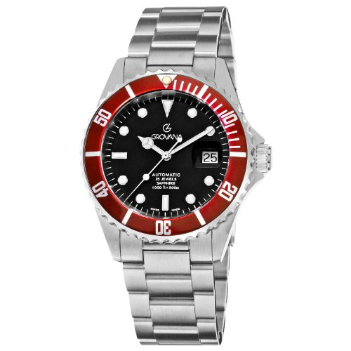 Grovana Herrenarmbanduhr Diver Automatic 1571.2136