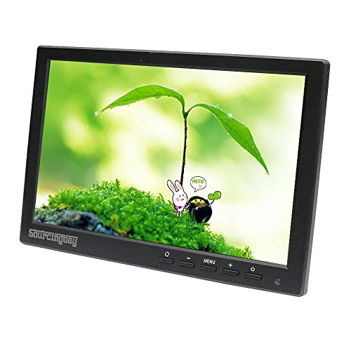Buy Discount Sourcingbay Mini 10 inch CCTV LCD Monitor for Security Surveillance System,Support HDMI...