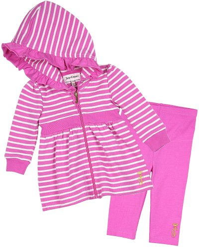 Juicy Couture Striped Hoodie and Leggings