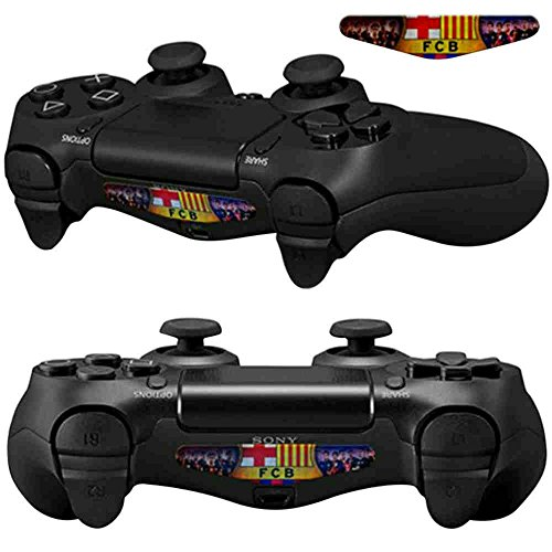 Mod Freakz PS4 Pair of LED Light Bar Vinyl Decal Skins B Football Soccer Club (Custom Skins For Ps4 compare prices)
