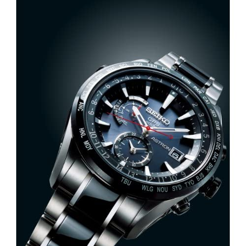 [セイコー]SEIKO 腕時計 SEIKO ASTRON セイコーアストロン ソーラーGPS衛星電波修正 サファイアガラス スーパークリア コーティング 日常生活用強化防水 (10気圧) セラミックベゼル・バンド SBXA015 メンズ