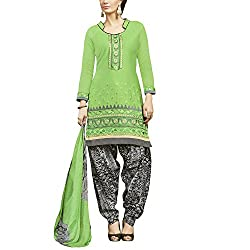Applecreation Green | cotton dress materials for women low price PARTY WEAR new collections Salwar Suit Kameez