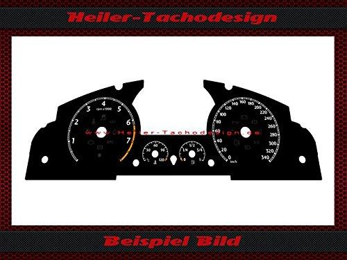 Tachoscheibe Bentley Continental GT 2005 MPH zu KMH