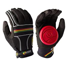 Sector 9 BHNC Slide Glove, Rasta, Small/Medium
