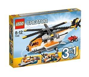 Lego Creator - 7345 - Jeu de Construction - L'Hélicoptère de Transport