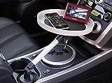 きくばり 多機能 車内テーブル 自由 回転可能 カー用品 食事 車載 ホルダー テーブル ウェイター WAIT01