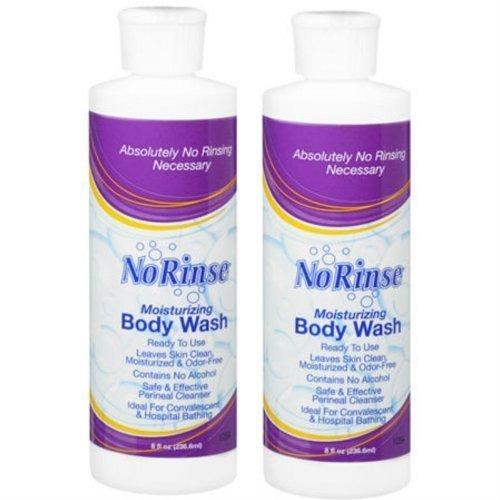 No Rinse Body Wash (2 Bottles), 8FL bottles (Waterless Shower compare prices)