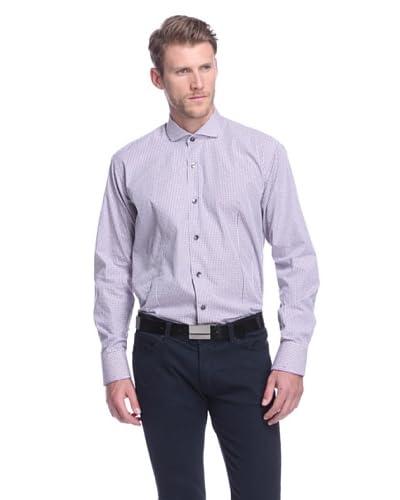 Bogosse Men's Giorgio Checked Long Sleeve Sportshirt