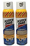 Scotchgard Carpet and Rug Protector, 17 Ounce (Pack of 2)