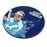 PosterGuy Roger Federer Art Splash Tennis, Sports Fridge Magnet