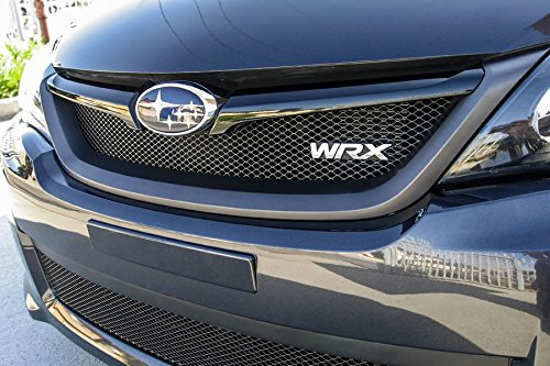 GrillCraft SUB1735B MX Series Black Upper 1pc Mesh Grill Grille Insert for Subaru Impreza WRX (2014 Wrx Grill compare prices)