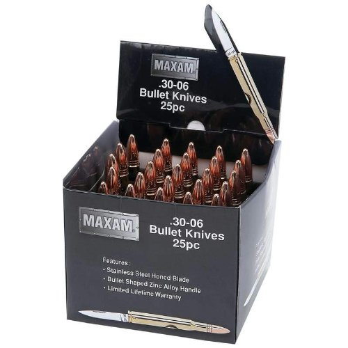 25Pc Display Set Bullet Knives 25Pc Display Set Bullet Knives