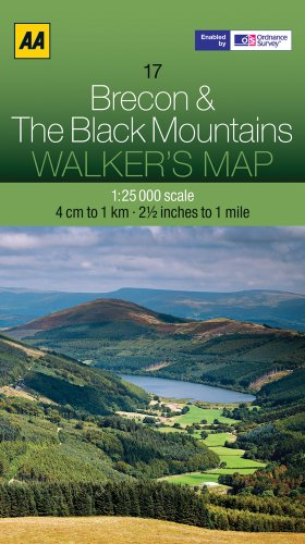 walkers-map-17-brecon-black-mts-1-25-000