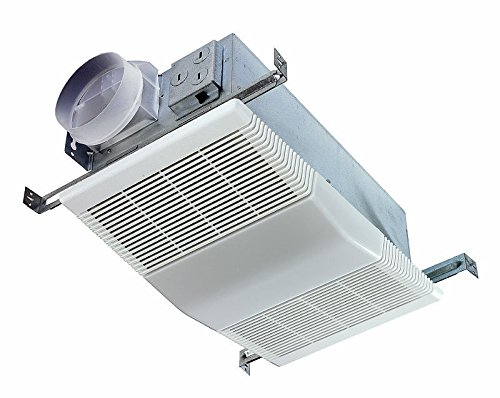 Blower Exhausts Stale Air and Moisture Bathroom Fan / Light (Microwave Roof Vent Kit compare prices)