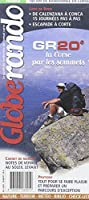Carte de randonnée : GR 20, la Corse par ses sommets