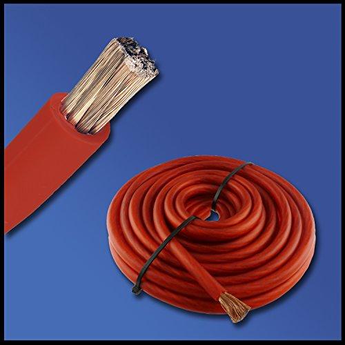 batteriekabel rot h07v k 16 mm 25 mm 35 mm oder 50 mm kfz batterie kabel ofc 100. Black Bedroom Furniture Sets. Home Design Ideas
