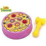 Birthday Cake Arcade Game - Hammer Pounding Toy For Kids Fun Playtime