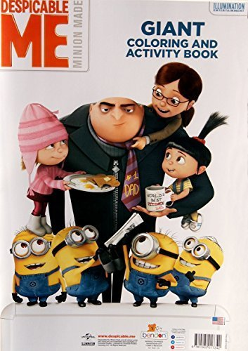 "Despicable Me Minion Made Giant Coloring and Activity Book - 11"" x 16"""