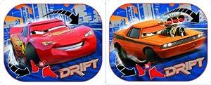 Disney 28305 - Parasol para coche (2 unidades), diseño de Cars marca Disney - BebeHogar.com