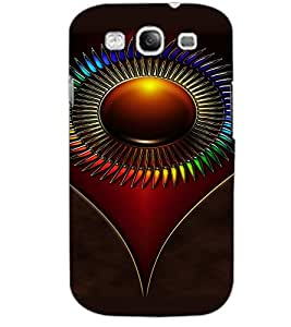 SAMSUNG GALAXY S3 SYMBOL Back Cover by PRINTSWAG