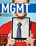 img - for MGMT 8 (with CourseMate, 1 term (6 months) Printed Access Card) (New, Engaging Titles from 4LTR Press) 8th edition by Williams, Chuck (2015) Paperback book / textbook / text book