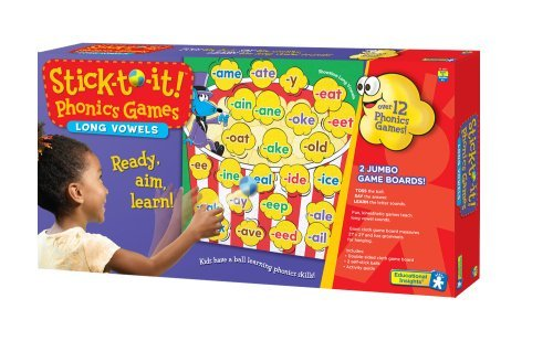 Stick - To - It Phonics Games - Long Vowels