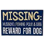 Missing Husband Box Sign