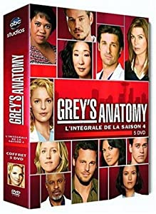 Grey's Anatomy , Saison 4 - Coffret 5 DVD