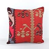 Wool Pillow, KP1005, Kilim Pillow, Decorative Pillows, Designer Pillows, Bohemian Decor, Bohemian Pillow, Accent Pillows, Throw Pillows