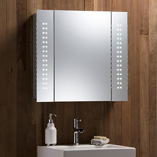 led-illuminated-bathroom-mirror-cabinet-with-demist-pad-shaver-and-sensor-switch-60cmh-x-65cmw-x-12c