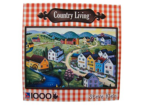 Country Living Steve Klein 1000 Piece Jigsaw Puzzle: Peaceful Springtime