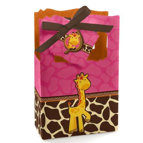 Pink Giraffe Birthday Party
