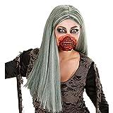 Horror Zombie Mund Halloween Maske Zombiemund Gesichtswunde Zombie Schminke Wunde 3D Make Up FX Zombieschminke