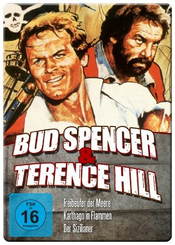 Bud Spencer & Terence Hill Edition - Vol. 1 - (Freibeuter der Meere/Karthago in Flammen/Der Sizilianer) (Iron Edition)