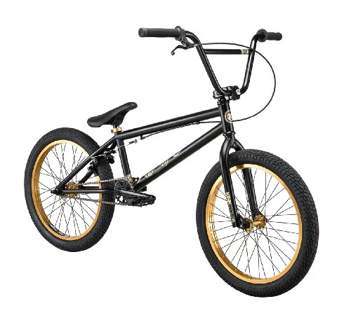 Kink Gap 2013 BMX Bike (Black/Gold, 20.5-Inch)