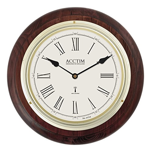 acctim-74546-thetford-radio-controlled-wall-clock-dark-wood