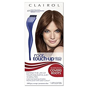 Nice'n Easy Permanent Hair Colour Root Touch Up - No. 4R Dark Auburn/Reddish (previously 4.6)