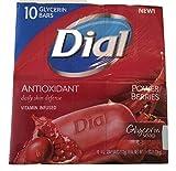 Dial Antioxidant Power Berries Glycerin Soap 4 oz Bars 12 Bars Total