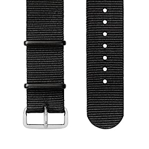 Wellograph Leather Strap, Black