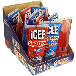 Icee Squeeze Liquid Candy Tube - 12 Ct. Case