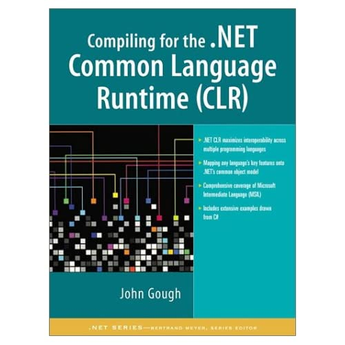 Book Cover: [request_ebook] Compiling for the .Net Common Language Runtime (CLR)