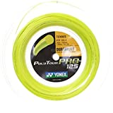 Yonex(ヨネックス) ポリツアープロ 200Mロール 硬式テニス ポリエステル ガット PTP125-2/1.20mm/イエロー [並行輸入品]